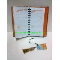 Buy cheap Flannelette Cover Notebook from wholesalers