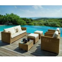 Quality TF-9518 wicker rattan living room sofa furniture for sale