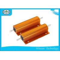Quality High Voltage Wire Wound Power Resistor Winding Gold 200W 0.01 Ohm Resistor for sale