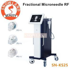 China Stationary Microneedle RF Skin Care Machine / RF Fractional Micro Needle / RF Needle on sale