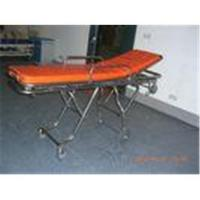 Quality Ems Hospital Stainless Steel Automatic Loading Stretcher with Wheels for sale