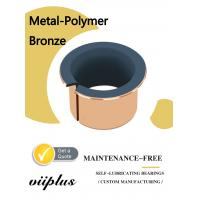 Quality Metal Polymer Split Plain Bearing With Sintered Bronze Layer Filled With PTFE for sale
