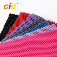 Buy Abrasion - Resistant Upholstery 100% Polyester Mesh Fabric for Garment at wholesale prices