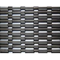 Quality Channel mesh decorative elevator wall cladding curtain screen in stainless steel for sale