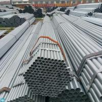 Quality Galvanized Steel Tube Hot Dipped GI Pipe OD20 - 508mm Length 6 Meters Grade Q195 Q235 for sale