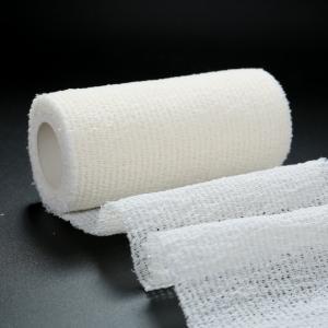 Quality First Aid Elastic Medical Bandage Tape ,  Self Adhesive Medical Bandage for sale