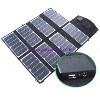 Quality Powerful 52w solar charger for all kinds of digital products for sale