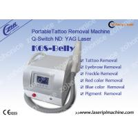 China Professional Mini Laser Tattoo Removal Machine K6S - Belly For Skin Pigment on sale