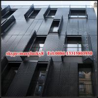 Quality Powder coated aluminium perforated panel for facade for sale