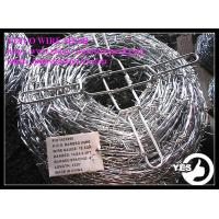 Quality 10x12 Galvnaized Barbed Iron Wire Barbed Wire for sale