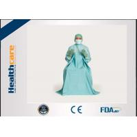 Buy cheap T.U.R Dispoable Surgical Gown Urology Surgery blue colour SMS EO Sterile from wholesalers