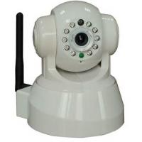 Quality TCP / IP , HTTP Digital h.264 indoor wireless security ip camera with IR Distance 10 m , Waterproof for sale