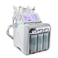 China Multifunction skin care device 6 in 1 anti aging big bubble facial H2O2 hydrogen oxygen jet beauty machine on sale