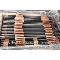 Buy C12200 / TP2 Copper Finned Tube , Tension Wrapped L Type Condenser Tube at wholesale prices
