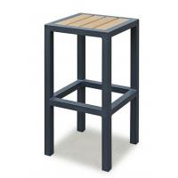 Buy cheap Breakfast Metal Kitchen Bar Stools  , Metal Counter Stool With Wood Seat Without Backrest product