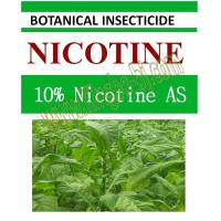 Buy cheap 10% Nicotine AS, biopesticide, organic insecticide, botanic, natural from wholesalers