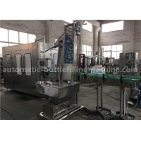 6.57KW Power Carbonated Drink Filling Machine PE Srew Cap For Gas Contained Beverage