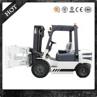 2017 Hot Selling 3000mm Battery Pallet Forklift Stacker with Paper Roll Clamp from China