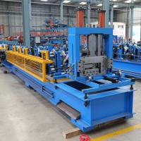 Quality C And Z Purlin Roll Forming Machine , Steel Channel Quick Change Cold Forming Machine for sale