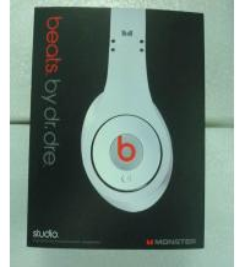 Quality Mini Beats by Dr Dre Studio Headphones Earphone Black/White for sale