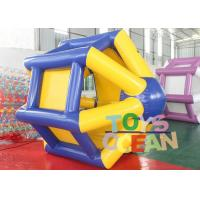 Quality 0.9 PVC Inflatable Interactive Games Water Roller Human Sized Hamster Ball For Water Pool for sale