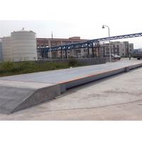 China 3x25m Size Electronic Lorry Weighbridge Large Screen Display With Steel Ramps on sale