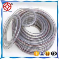 Quality FLEXIBLE COLD RESISTANT RUBBER HOSE PVC STEEL WIRE HOSE for sale