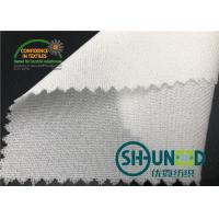 Quality 55GSM Fusible Woven Adhesive Liner /White  Interlining In Garments for sale
