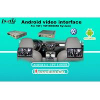 Quality AV Output VW Sharan Android Video Interface Touch Navigation , WIFI / BT Google MAP for sale