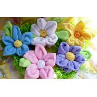Quality DIY Large Washcloth Flowers Bundle Baby Clothes Bouquets for Shower or Party Decor for sale