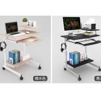 Quality Double deck single person computer table simple modern for small apartment for sale