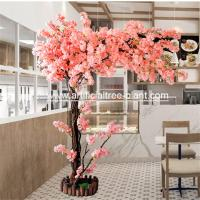 Durable One Side Artificial Blossom Tree Wedding Shop Home Decoration for sale