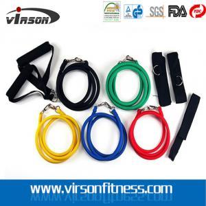 China Virson Resistance Bands Set, Exercise Resistance Tubes Kit on sale