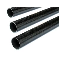 high quality of glossy fished 3k carbon fiber tubing
