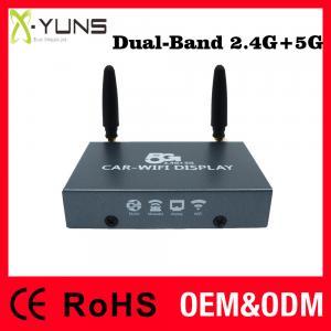 Dual-band 2.4G+5G Ptv550 Car WiFi Mirabox Android Miracast DongleIos Airplay Mirroring