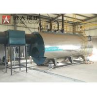 Quality Automatic Industrial WNS Gas Oil Fire Tube Boiler Wet Back Structure for sale