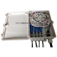 Buy cheap 8 Fiber Loaded Fiber Optic Distribution Box Steel Tube Type Splitter from wholesalers