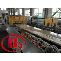 Quality wpc foamed door panel making  machine for sale