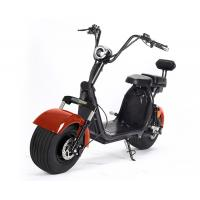Quality Fat Tire Harly Battery Powered Motor Scooters Double Seat Rearview Mirrors For Adult for sale
