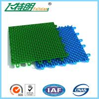 Quality Colored Outdoor PP Suspended Interlocking Rubber Floor Tiles Modular Hockey Flooring for sale
