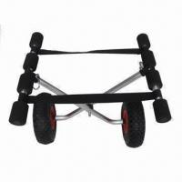 China Kayak/Canoe Carrier, Kayak Trolley/Cart, Comes with 4m Tie-down Straps on sale