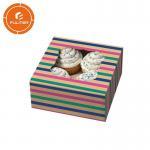 Quality Handmade luxury art pla paper cake box / wholesale custom wedding tall cake box for sale