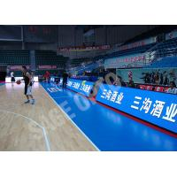 Quality Background Thin LED Displays Full Color SMD P8 Indoor Anti Collision for sale