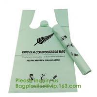 Quality Garbage Biodegradable Compost Bags Compost Film Disposable Bio for sale