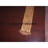 "Quality 2 "" Width Knitted Copper Wire Mesh Double / Multi - Filament Durable And Long Service Life for sale"