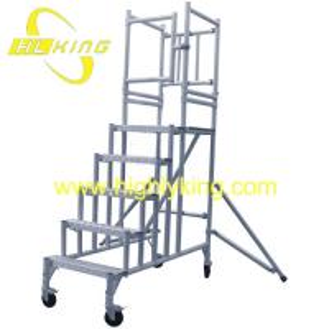 China DIY Aluminium Working Platform /Aluminium Rolling Scaffold Tower(HJ-118) on sale