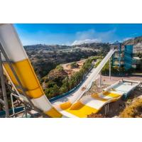 Quality Water Park Holidays Boomerang Big Water Slides 9 - 18M Platform Height for sale