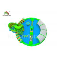 Buy cheap Outdoor Crocodile Kids Inflatable Water Park Floating Aqua With Digital Printing from wholesalers