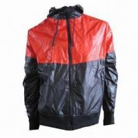 Quality Men's Casual Jacket with Hood and Front Zipper, Suitable for Men for sale