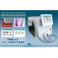 Quality Professional Laser Hair Removal Machines In 808nm Wavelength And Sapphire Contact Cooling System for sale